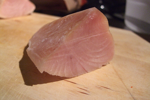 how to cook tuna belly meat