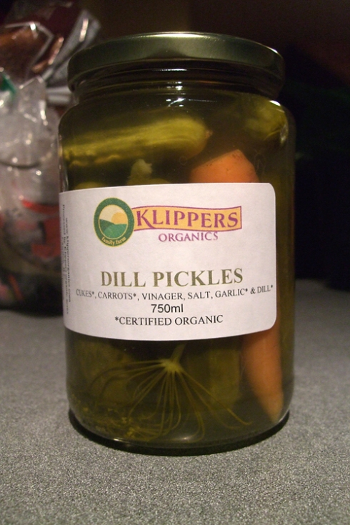 klipper's dill pickles