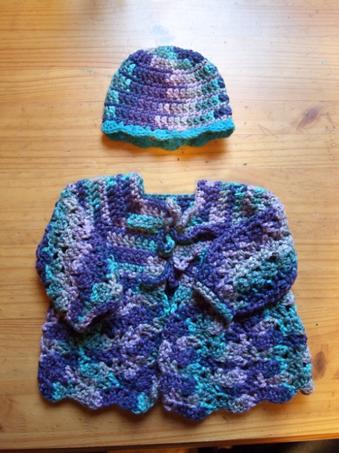 baby cardigan and hat urbanpocketknife