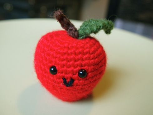 amigurami apple and pear urbanpocketknife