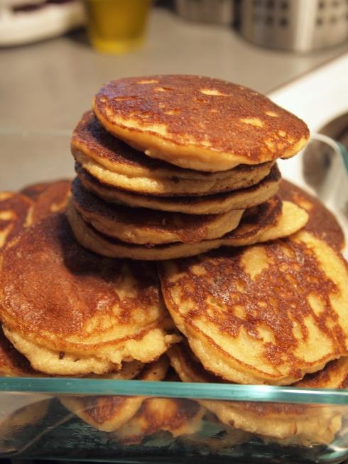 almond flour pancakes urbanpocketknife