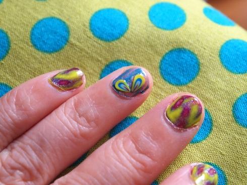 nail art tie dye urbanpocketknifea