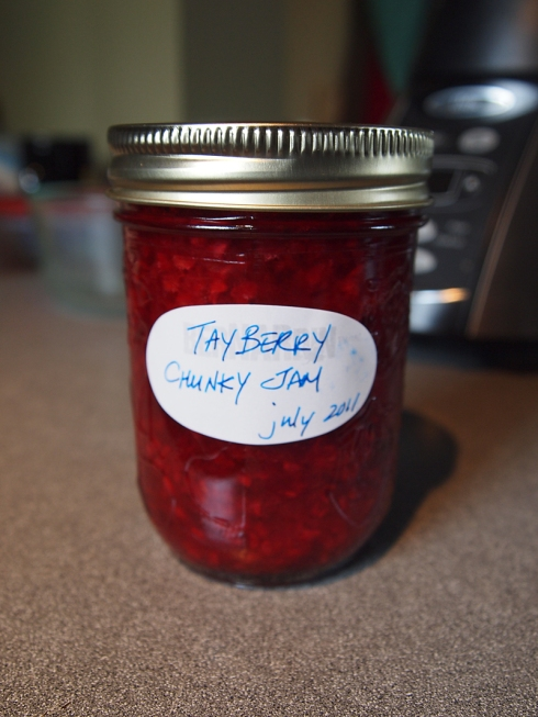tayberry jam urbanpocketknife