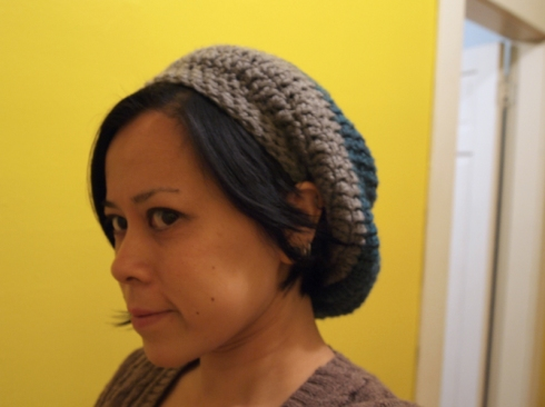 slouchy two toned hat urbanpocketknife