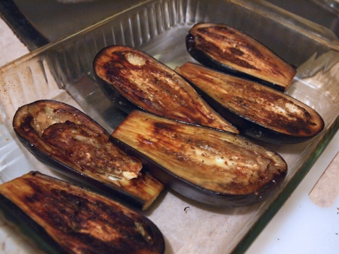 faux stuffed eggplant urbanpocketknife