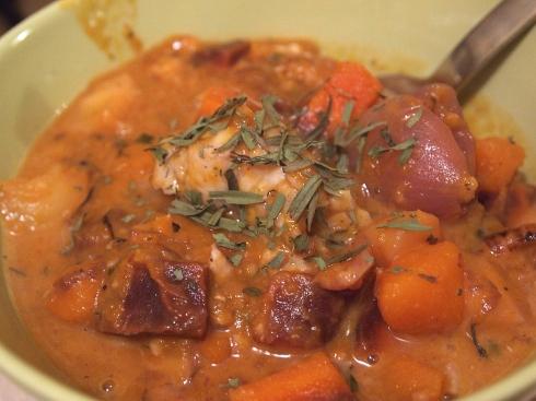 fish and squash stew urbanpocketknife