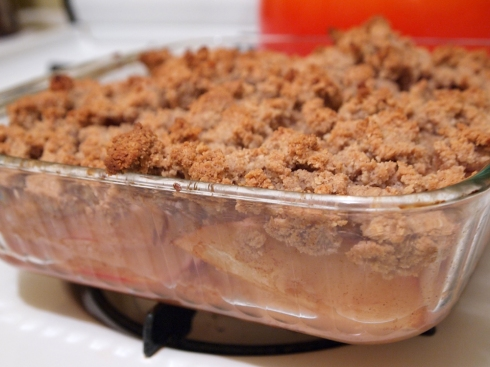 low carb apple crumble urbanpocketknife