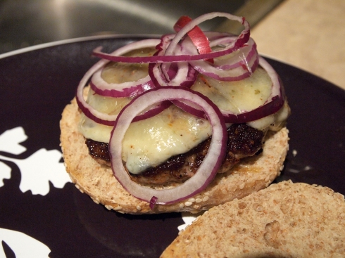 triple pork burger urbanpocketknife
