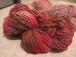 hand painted yarn dyeing urbanpocketknife