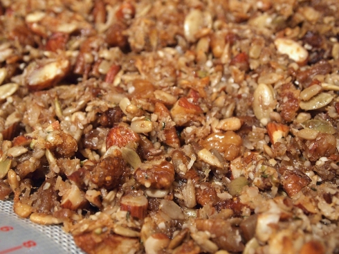 paleo granola urbanpocketknife