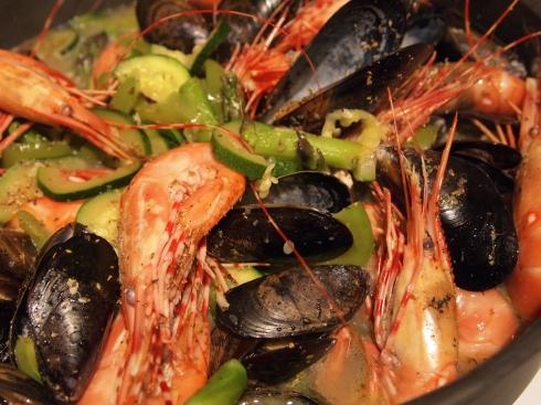 spot prawn seafood urbanpocketknife