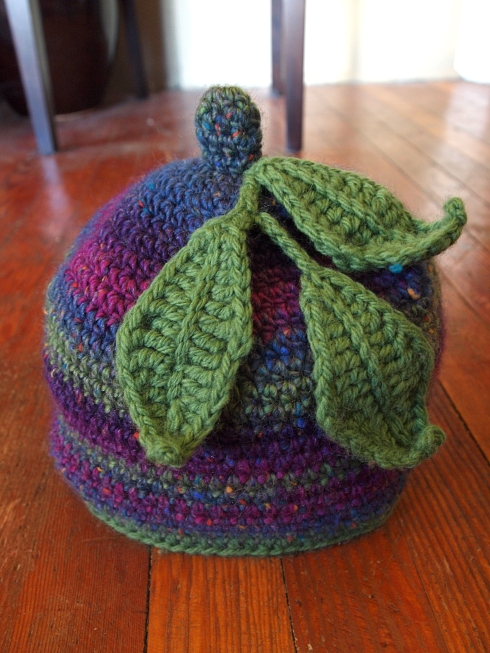 crochet leaf hat theurbanpocketknife