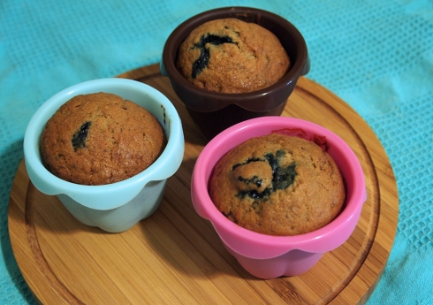 banana blueberry muffins the urbanpocketknife