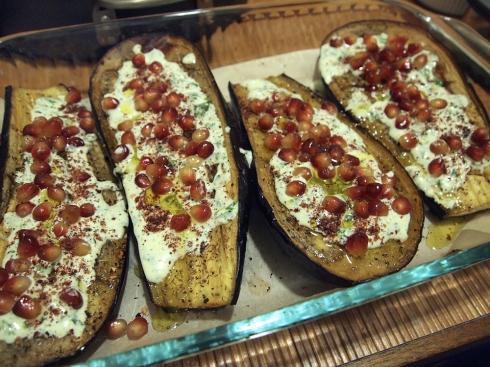 eggplant pomegranate theurbanpocketknife
